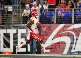 Byron Pringle turns on jets for speedy 40-yard TD