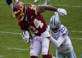 Antonio Gibson finds crease at line for 12-yard TD run