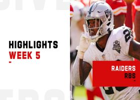 Raiders RBs best plays from road win over Chiefs | Week 5