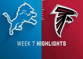 Lions vs. Falcons highlights | Week 7