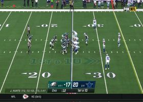 Eagles run fake QB kneel with 12 seconds left before half