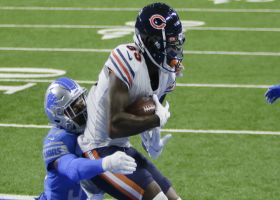 Trubisky finds Javon Wims in back of end zone for TD