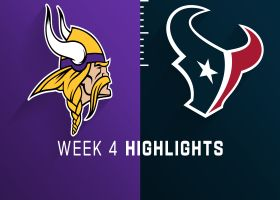 Vikings vs. Texans highlights | Week 4