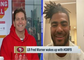 Fred Warner reveals what makes Richard Sherman a great teammate