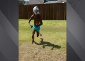 CeeDee Lamb shows off footwork in workout video
