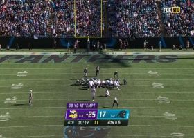 Greg Joseph extends Vikings' lead to 11 with 38-yard FG