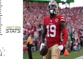 49ers' top 5 plays through quarter mark of 2021 season | Next Gen Stats