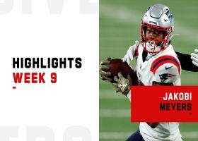 Every Jakobi Meyers catch from big birthday performance | Week 9