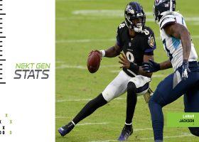 Next Gen Stats: Will Ravens get revenge vs. Titans?