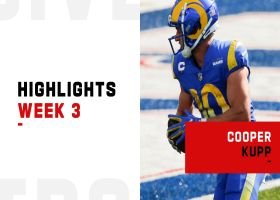 Every Cooper Kupp catch from 107-yard game | Week 3