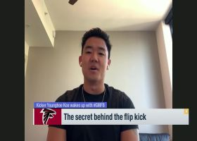 Younghoe Koo reveals secret behind his trick-shot kicks