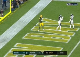 Andrew Sendejo breaks up possible Packers TD by fingertips