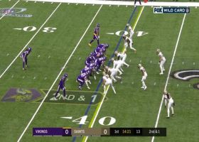 Biggest plays by the Vikings' defense | NFC Wild Card