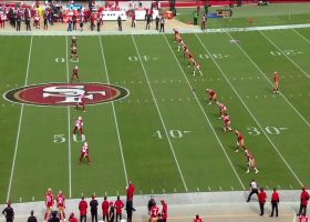 Chase Edmonds puts the Cardinals in good field position with 41-yard kick return