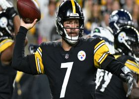 Roethlisberger whistles tight-window throw to Diontae Johnson for 14 yards