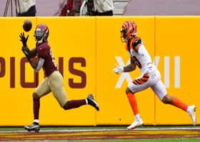Alex Smith retreats to find Steven Sims dragging across goal-line for TD