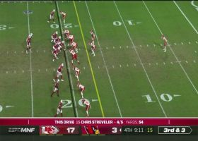 Streveler's perfect 20-yard TD to Travis couldn't be thrown better