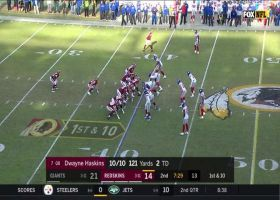 Adrian Peterson resembles freight train on 17-yard rush