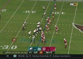 Jalen Hurts locates Alshon Jeffery all alone for huge 39-yard gain