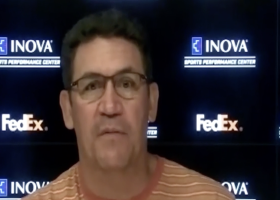Ron Rivera discusses Washington's release of Derrius Guice