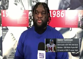 Dalvin Tomlinson discusses Walter Payton Man of the Year nomination