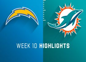 Chargers vs. Dolphins highlights | Week 10