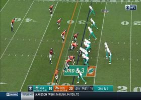 Air Gesicki! Dolphins TE gets UP for slick 25-yard grab