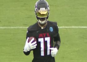 First look: Julio rocks sick visor, sleek new Falcons practice uniform