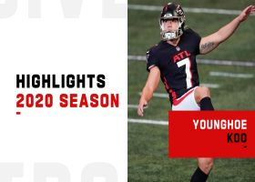 Every 50+ yard field goal by Younghoe Koo | 2020 season