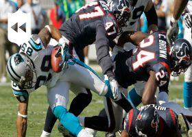 Panthers' Top 5 plays vs. Texans   NFL Throwback