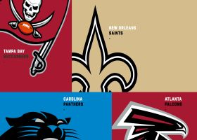 How the NFC South teams got their colors