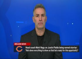 Warner weighs in on Nagy naming Fields as Bears' starting QB