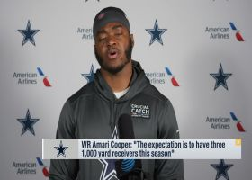 Will Cowboys have three 1,000-yard receivers in '20?