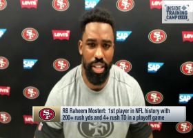 Raheem Mostert: It's the RB that makes the rushing scheme go