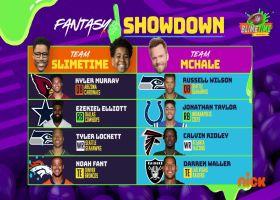 Fantasy Showdown vs. Joel McHale | 'NFL Slimetime'