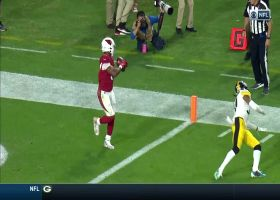 Kyler Murray sneaks TD throw by Terrell Edmunds to David Johnson