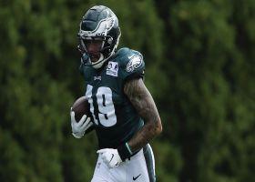 Kim Jones reveals Eagles WR who's had 'terrific' training camp so far