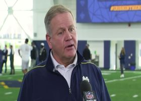 Notre Dame HC Brian Kelly: Why this year's pro days are more important than past years