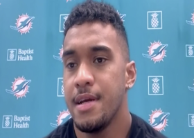 Tua on Fins' QB change: I'm very lucky to have Fitzpatrick in my corner