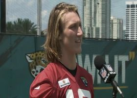 Trevor Lawrence discusses how he's adjusting in his first NFL training camp