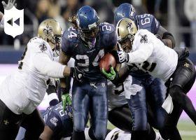 Marshawn Lynch's 'Beast Quake' run | NFL Throwback