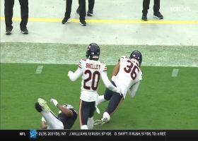 DeAndre Houston-Carson tracks down Carr's errant throw for INT