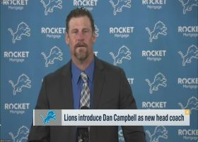 Detroit Lions introduce Dan Campbell as new head coach