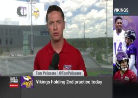 NFL Network's Tom Pelissero highlights two Minnesota Vikings rookies to watch at training camp
