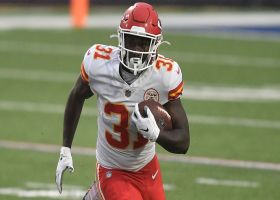 Chiefs execute screen to perfection on Williams' 15-yard catch and run