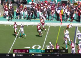 IT'S A FAKE! Kalen Ballage takes direct snap to edge for first down
