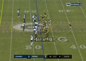 Every Davante Adams catch from record-setting game   Divisional Round