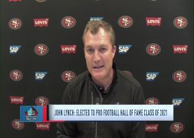 John Lynch on what it means to be inducted to the HOF in his eight year as a finalist