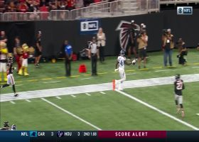 Corey Davis tightropes the sideline for first TD of 2019