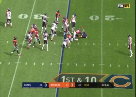 Bradley Chubb absolutely stuffs rookie David Montgomery